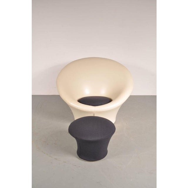 Large Mushroom Chair with Foot Stool by Pierre Paulin for Artifort, 1960s - Image 2 of 8