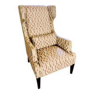 Contemporary Thom Filicia for Vanguard Wingback Chair For Sale