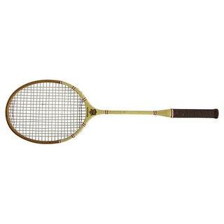 Yellow Regal Badminton Racket