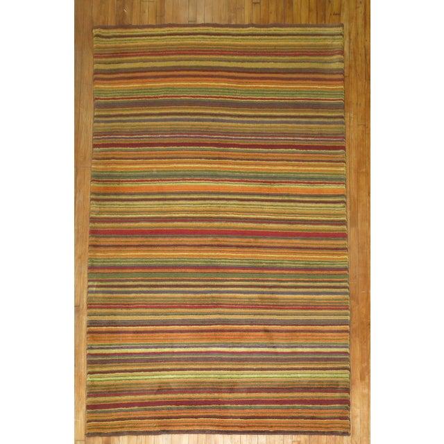 Vintage Tibetan Rug - 5'11'' X 8'9'' - Image 2 of 8