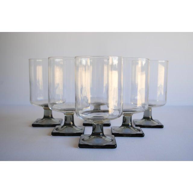 Mid-Century Modern Glasses - Set of 6 - Image 2 of 4