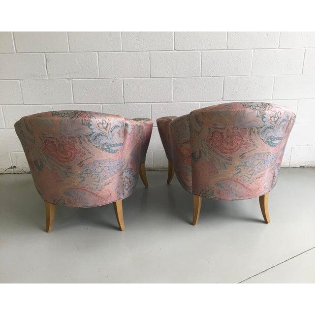Thayer Coggin Thayer Coggin Design Studio Vintage Lounge Chairs - a Pair For Sale - Image 4 of 13