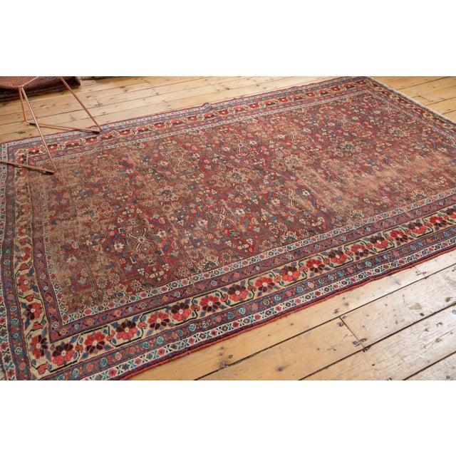 "Islamic Antique Kurdish Carpet - 5'10"" x 8'1"" For Sale - Image 3 of 13"