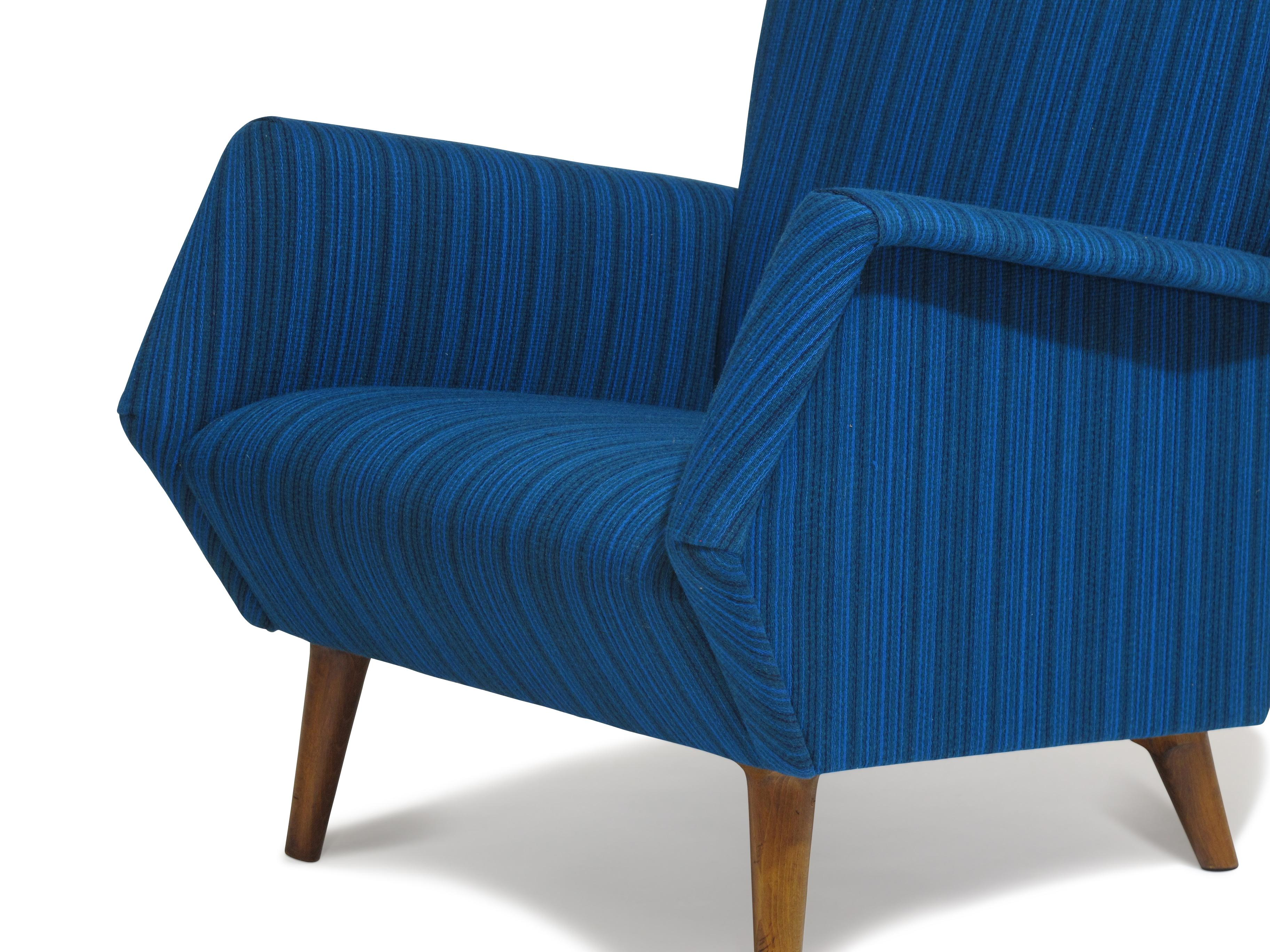 Gio Ponti Model 803 Mid Century Italian Lounge Chair   Image 4 Of 8
