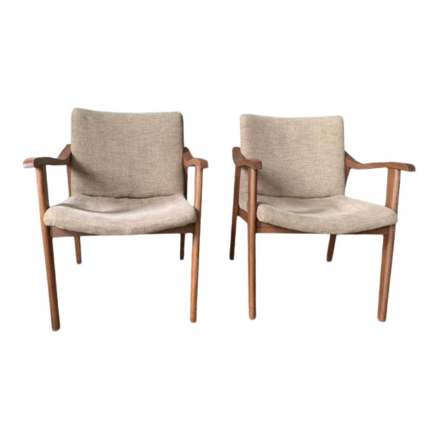 Mid-Century Modern Chairs - a Pair For Sale