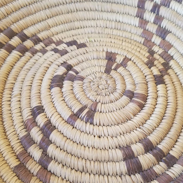 1940s Western Apache Pictoral Baket For Sale - Image 9 of 13