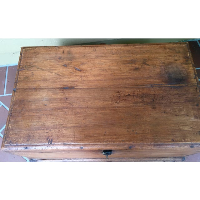 Antique French Trunk - Image 10 of 11