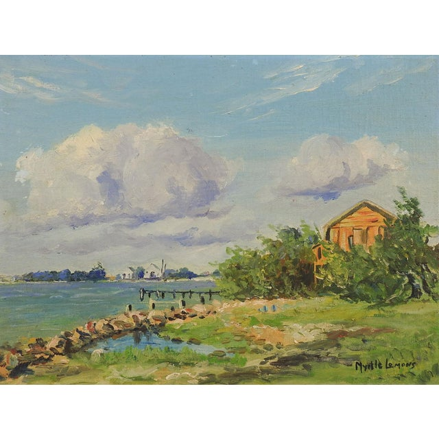 Texas Gulf Coast by Myrtle Lemons For Sale