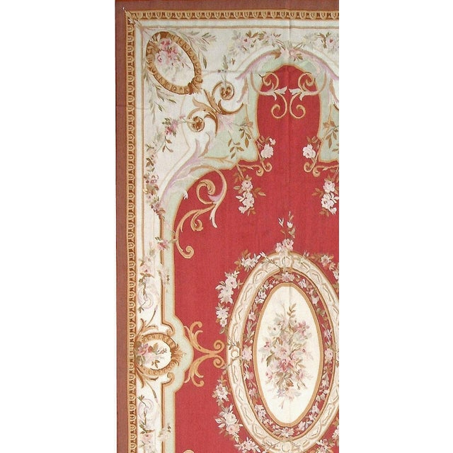 "Pasargad Aubusson Hand Woven Wool Rug- 11' 0"" X 16' 0"" - Image 2 of 3"