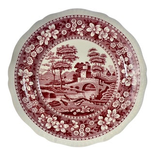 """10"""" English Copeland Spode Tower Dinner Plates - Set of 6 For Sale"""