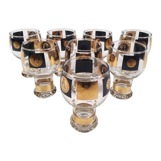 Fostoria Coin Glassware - Set of 8 For Sale