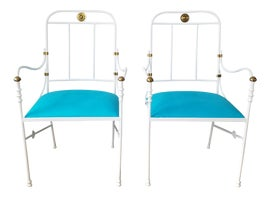 Image of Gesso Side Chairs