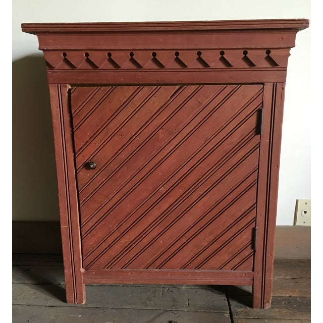 Antique Painted Cupboard - Image 2 of 4