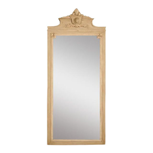 Circa 1890 French Painted Mirror - Image 1 of 11