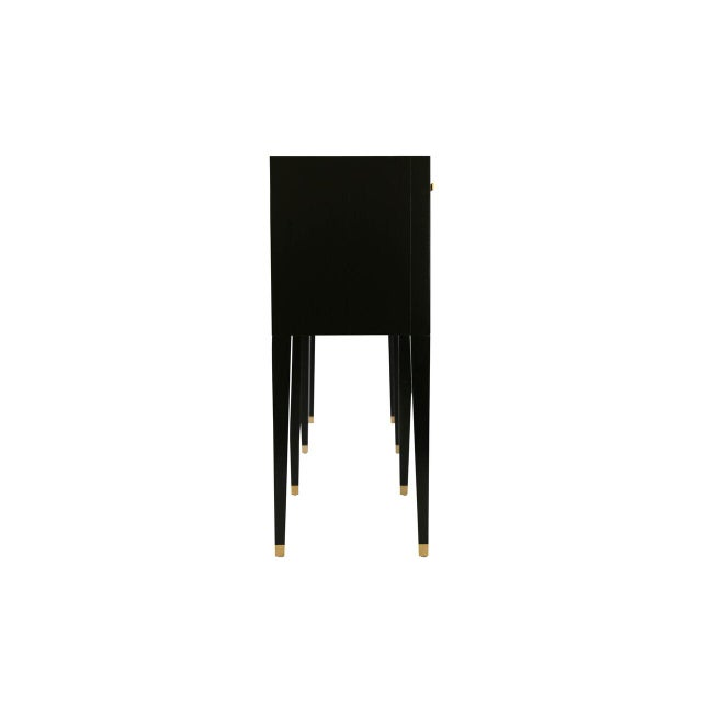 Awe Inspiring Carlyle Console In Ebony Ncnpc Chair Design For Home Ncnpcorg