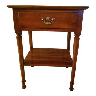 Stickley Cherry Nightstand For Sale