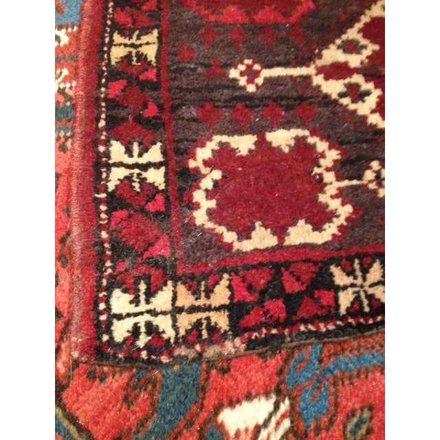Vintage Turkmen Wedding Trapping - 1′4″ × 4′7″ - Image 4 of 5