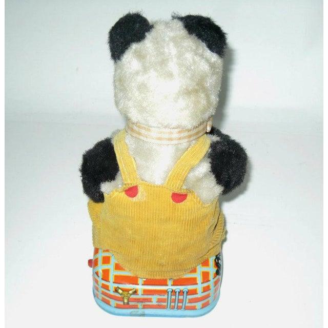Smoking Panda Toy C.1950s For Sale - Image 4 of 6