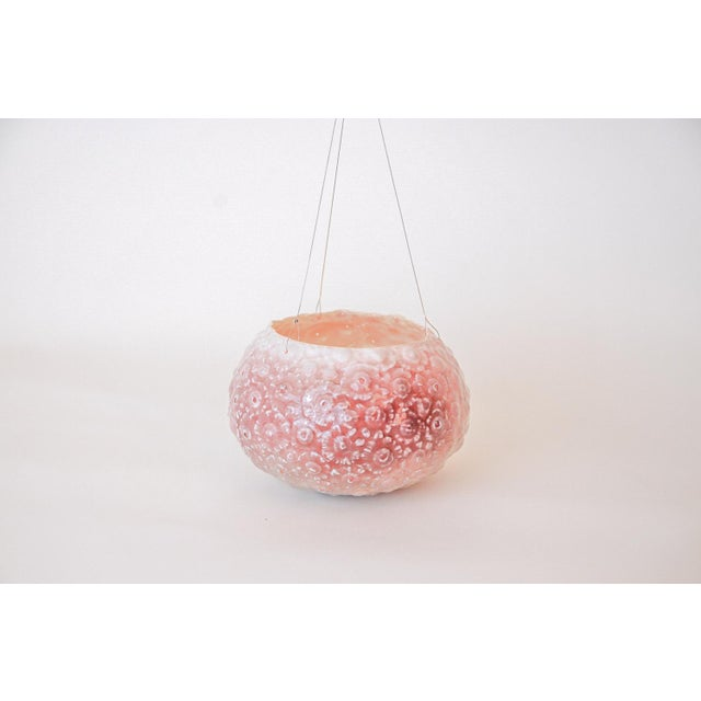 Boho Chic Handmade Hanging Candle Holder For Sale - Image 3 of 5