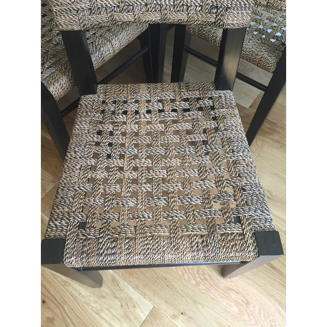 Palecek Panamawood Dining Chair - Set of 8 - Image 6 of 9
