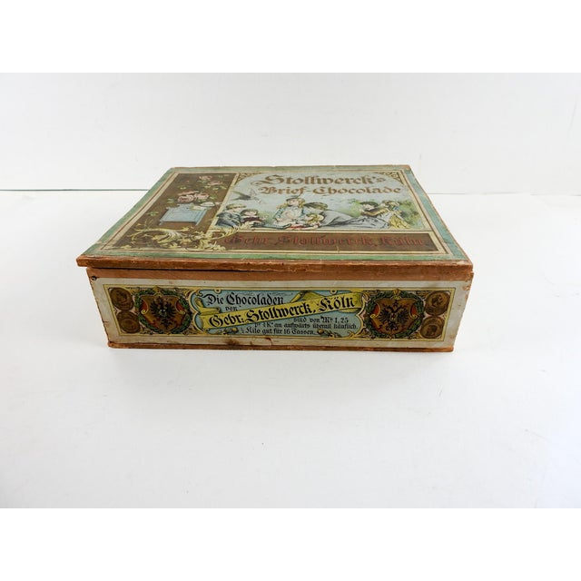 Late 19th Century Antique German Chocolate Box For Sale - Image 5 of 6