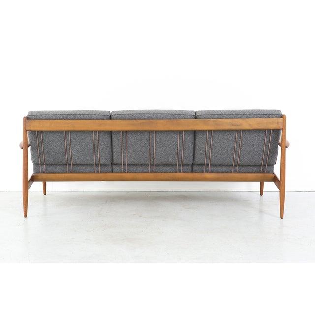 Grete Jalk for France + Daverkosen Teak Wood Sofa - Image 4 of 11