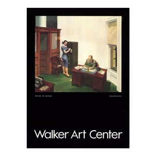 Edward Hopper, Office at Night, Offset Lithograph, 1995 For Sale