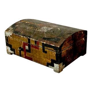 Aztec Revival Folk Art Box