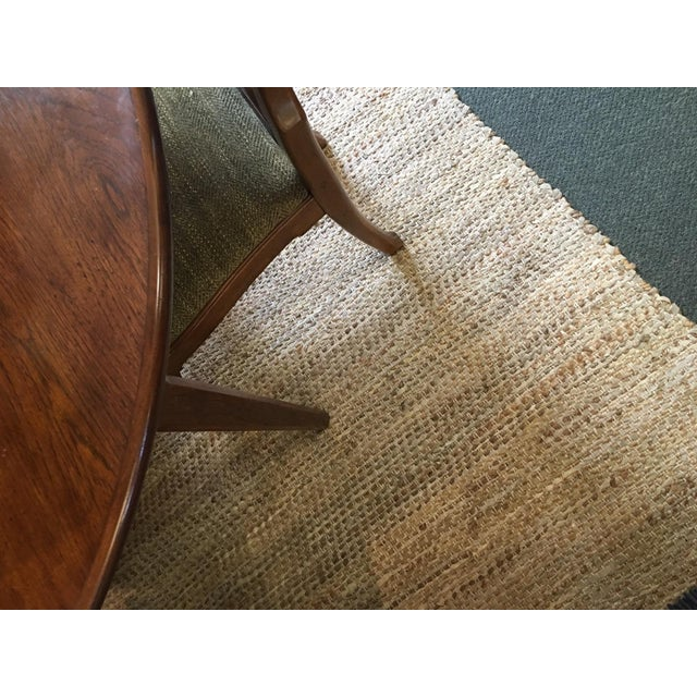 Leather & Fiber Woven Rug - 8′ × 10′ - Image 7 of 7