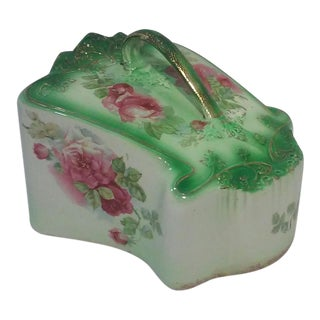 Antique English Staffordshire Cheese Dome For Sale
