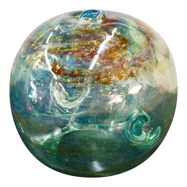 Signed 1970 Art Glass by Peter Bramhall - Image 1 of 7