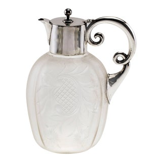 Claret Jug, Sterling Mount For Sale