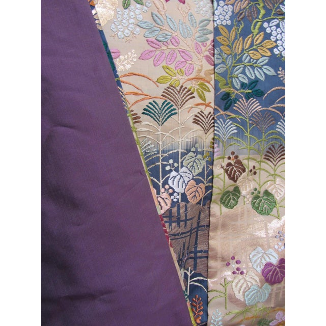 Vintage Silk Embroidered Japanese Wedding Kimono - Image 6 of 10