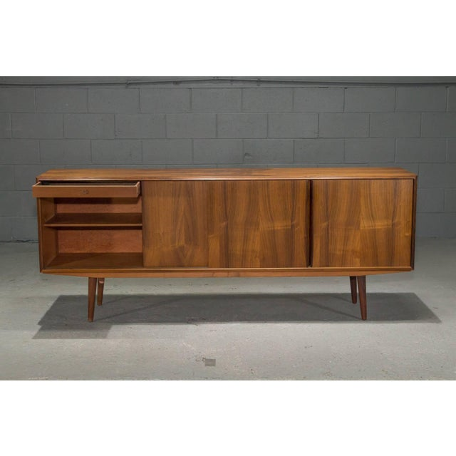 Danish Modern Rosewood Sideboard For Sale - Image 4 of 10