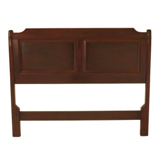 1990s Traditional Stickley Full Size Mahogany Bed Headboard For Sale