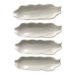 French Pillivuyt Corn Dishes -Set of 4 For Sale