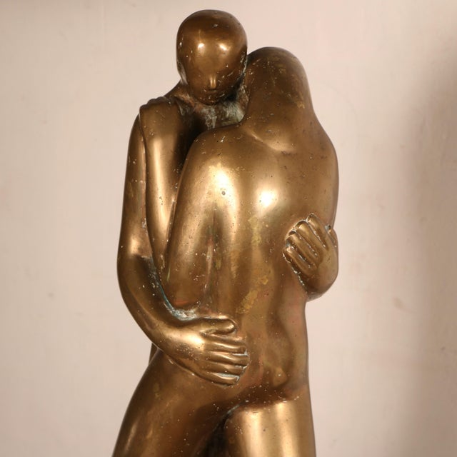 Lovers Sculpture by Louis Derbré - Image 5 of 11