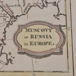 1806 Brightly and Kinnersley Map of Euro Russia Preview