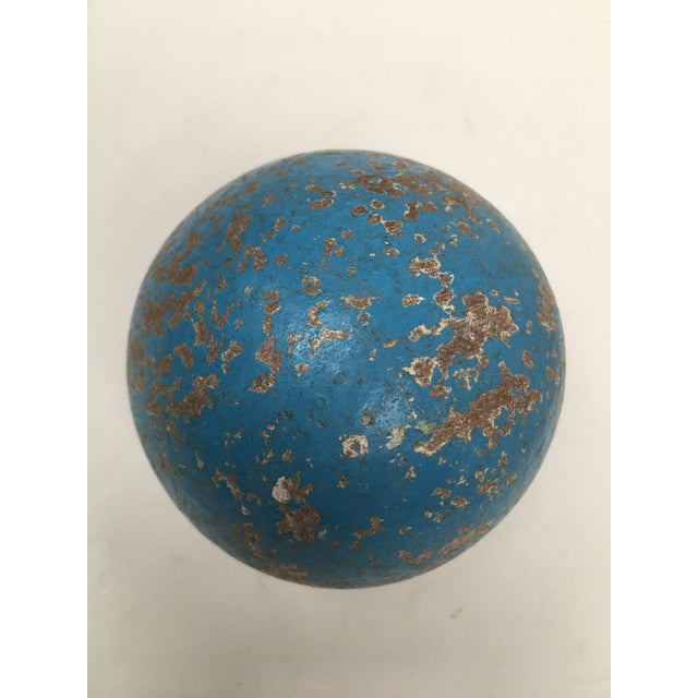 1950s 1950s Italian Painted Wooden Bocce Balls - Set of 7 For Sale - Image 5 of 8