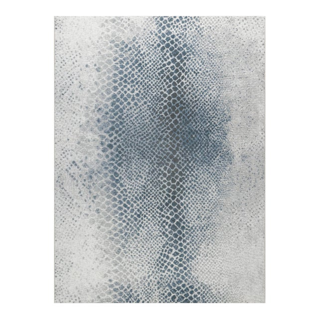 "Stark Studio Rugs Cissy Rug in Ocean, 3'11"" x 5'10"" For Sale"