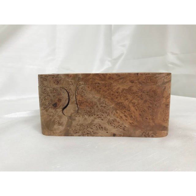 Burl Wood Puzzle Box - 5 Pieces For Sale - Image 4 of 9