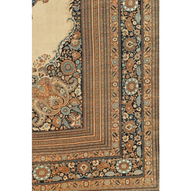 Islamic Tabriz Carpet For Sale - Image 3 of 4