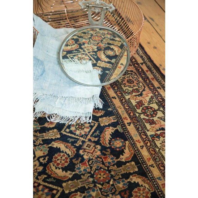 "Vintage Malayer Square Rug - 5' x 6'2"" - Image 8 of 9"