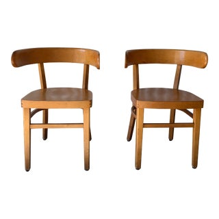 1960s Vintage Werner West Hugging Chairs- A Pair For Sale