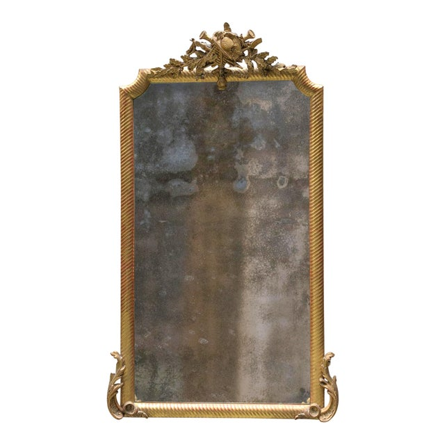 Glass 19th Century Mirror For Sale - Image 7 of 7
