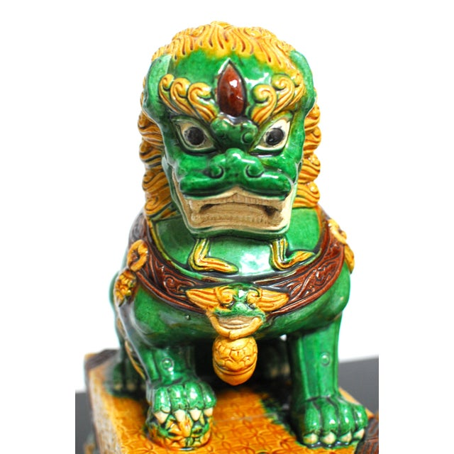 Chinese Imperial Foo Dog Lion Protector - Image 3 of 4