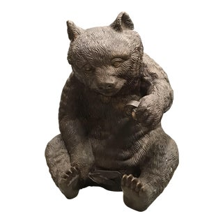 Brown Bear Garden Statue