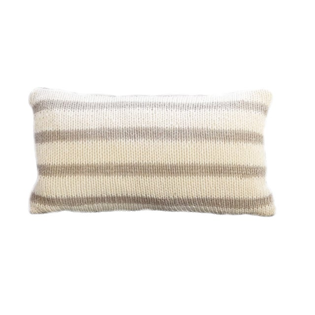 Vintage Natural Hemp Pillow - Image 1 of 3