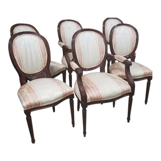 Century Furniture Claridge Louis XVI Side Chairs - Set of 6