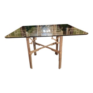 Chinese Chippendale Table Base For Sale